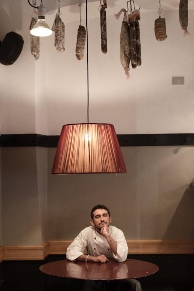 Marco Gallotta, main chef of the restaurant Primo al Pigneto in Rome
